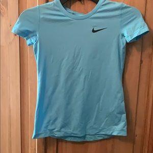 Girls Nike Pro dry fit